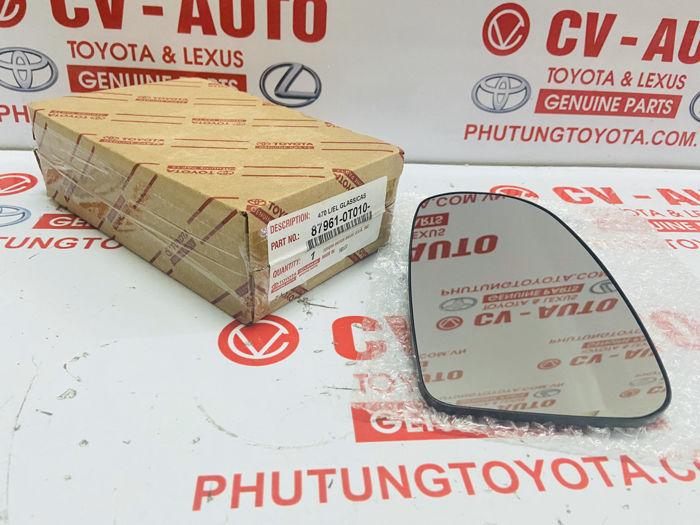 Picture of 87961-0T010 Mặt gương Toyota Venza hàng chính hãng