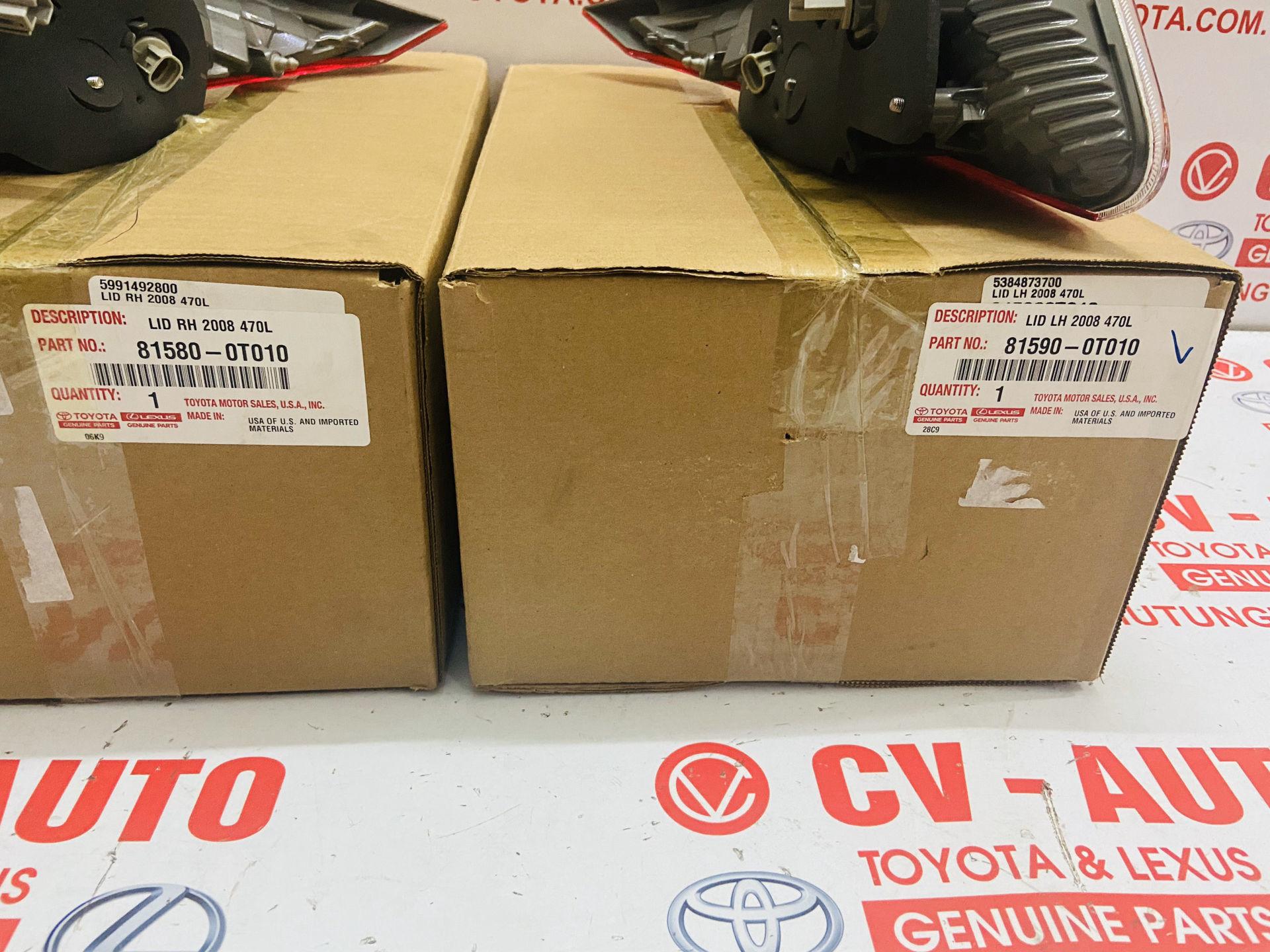 Picture of 81580-0T010 81590-0T010 Đèn hậu Toyota Venza hàng chính hãng