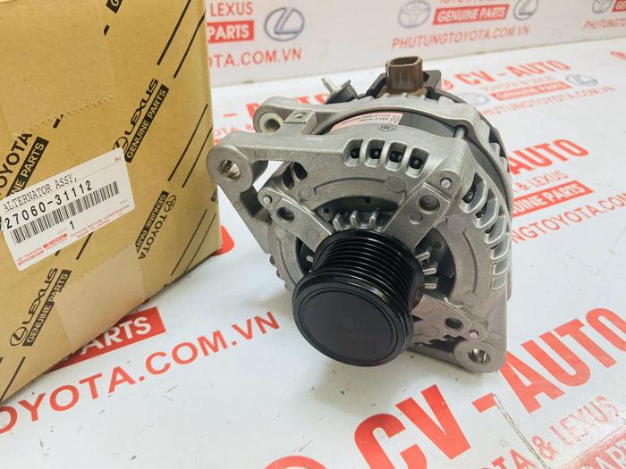 Picture of 27060-31112 Máy phát điện Lexus RX330 RX350 ES350, Toyota Highlander Camry RAV4 Sienna Venza đông cơ 2GRFE