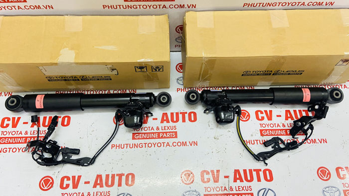 Picture of 48530-48392, 48540-48392 Giảm xóc sau xe Lexus RX350 2018 hàng chính hãng