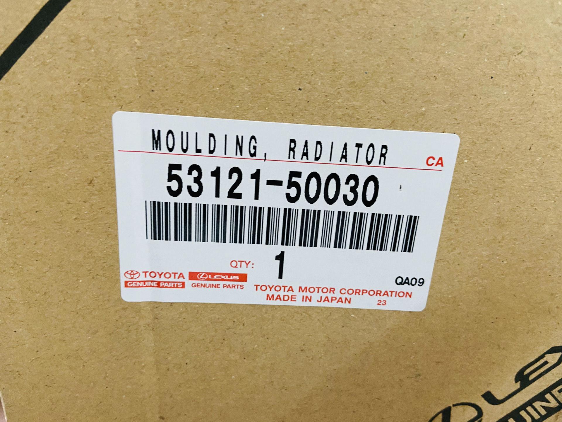 Picture of 53121-50030 Khung mạ ca lăng Lexus LS460 hàng chính hãng