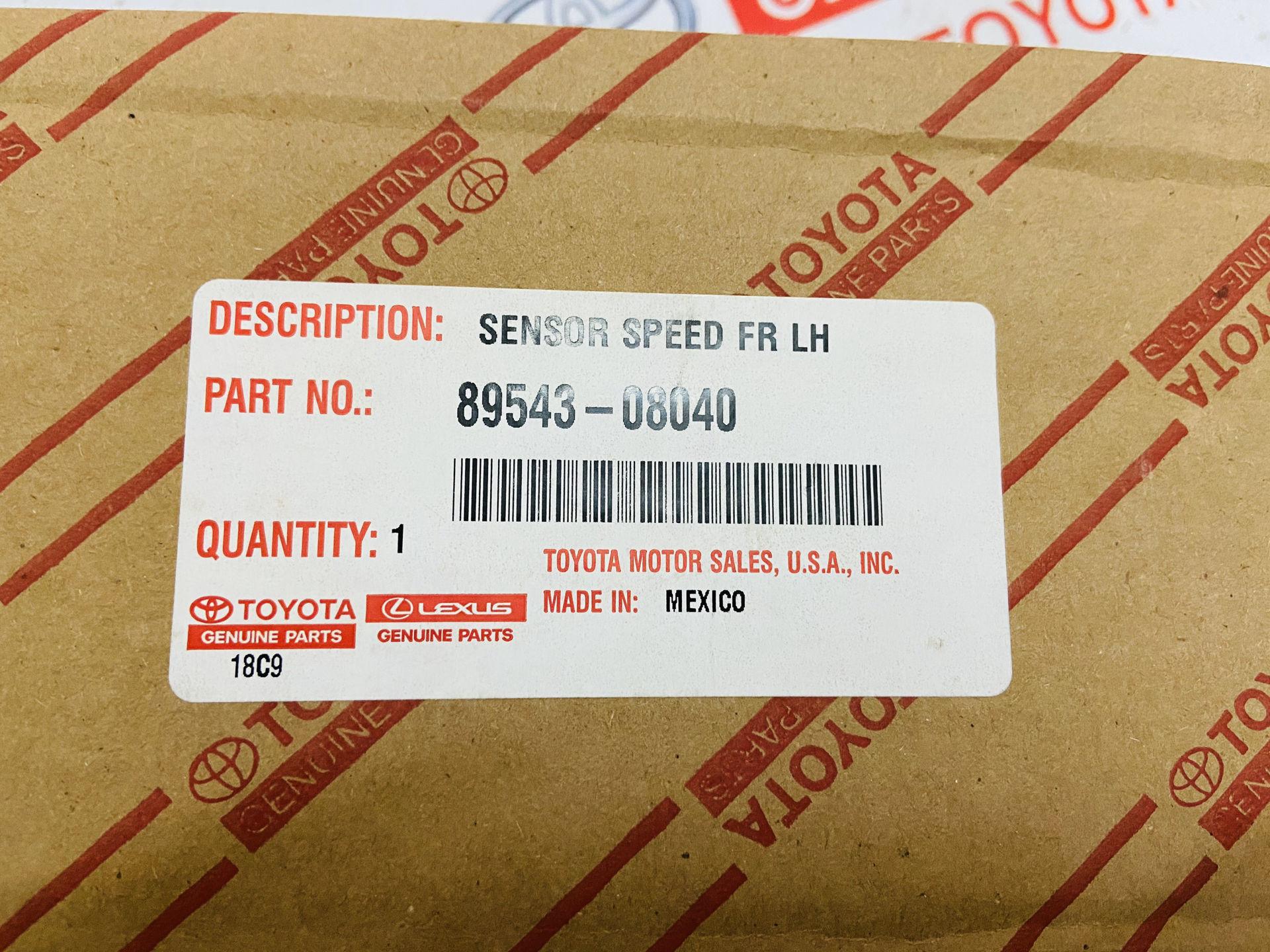Picture of 89543-08040, 89542-08040 Cảm biến ABS Toyota Sienna 2010 chính hãng