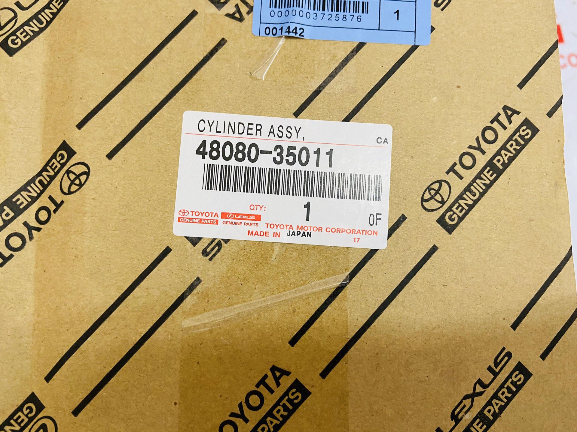 Picture of 48080-35011 Bóng hơi giảm xóc sau phụ LEXUS GX470