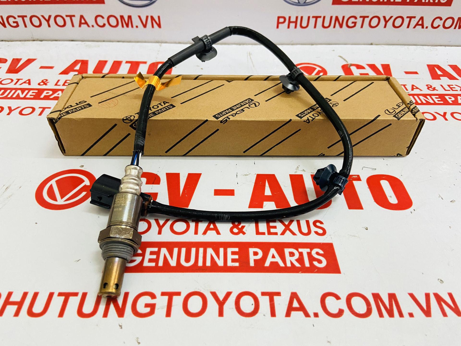 Picture of 89465-0K010, 894650K010 Cảm biến Ô xy khí xả Toyota Innova Fortuner chính hãng