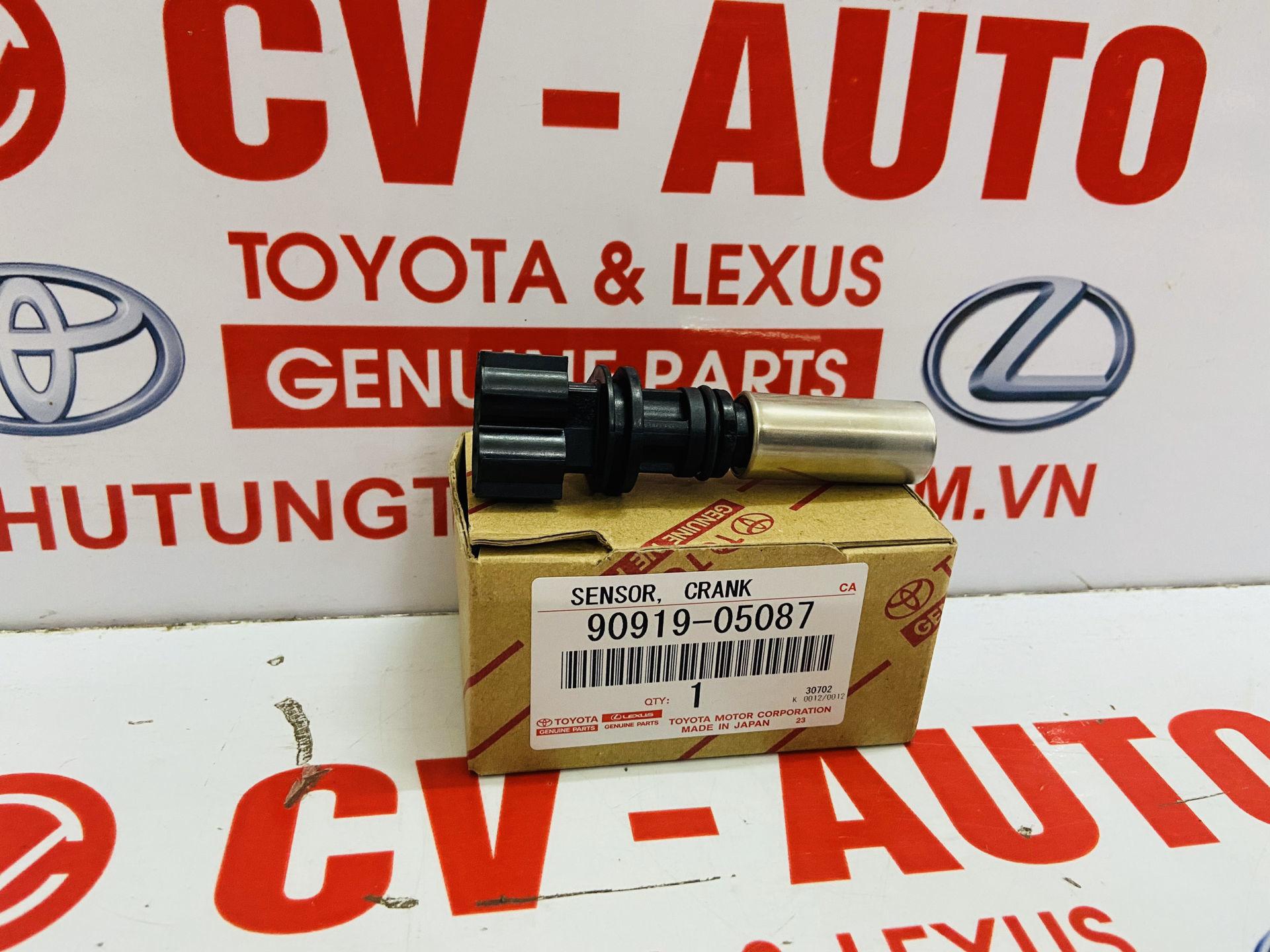 Picture of 90919-05087, 9091905087 Cảm biến vị trí trục cơ Toyota Vios, Yaris chính hãng