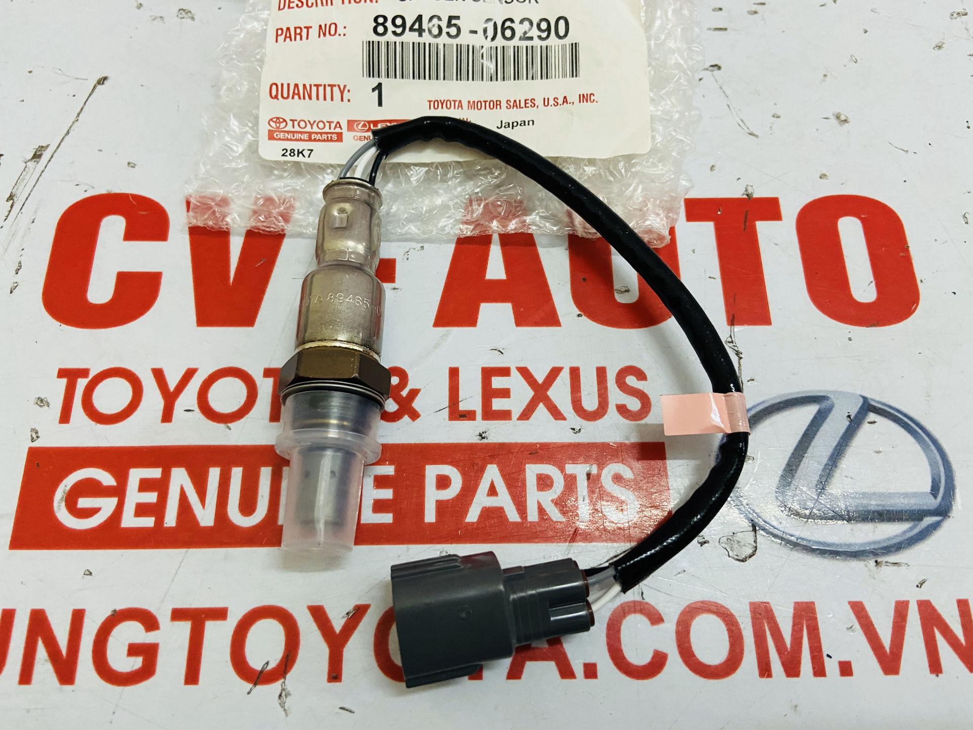Picture of 89465-06290 Cảm biến ô xy khí xả Toyota Camry ASV40 hàng chính hãng