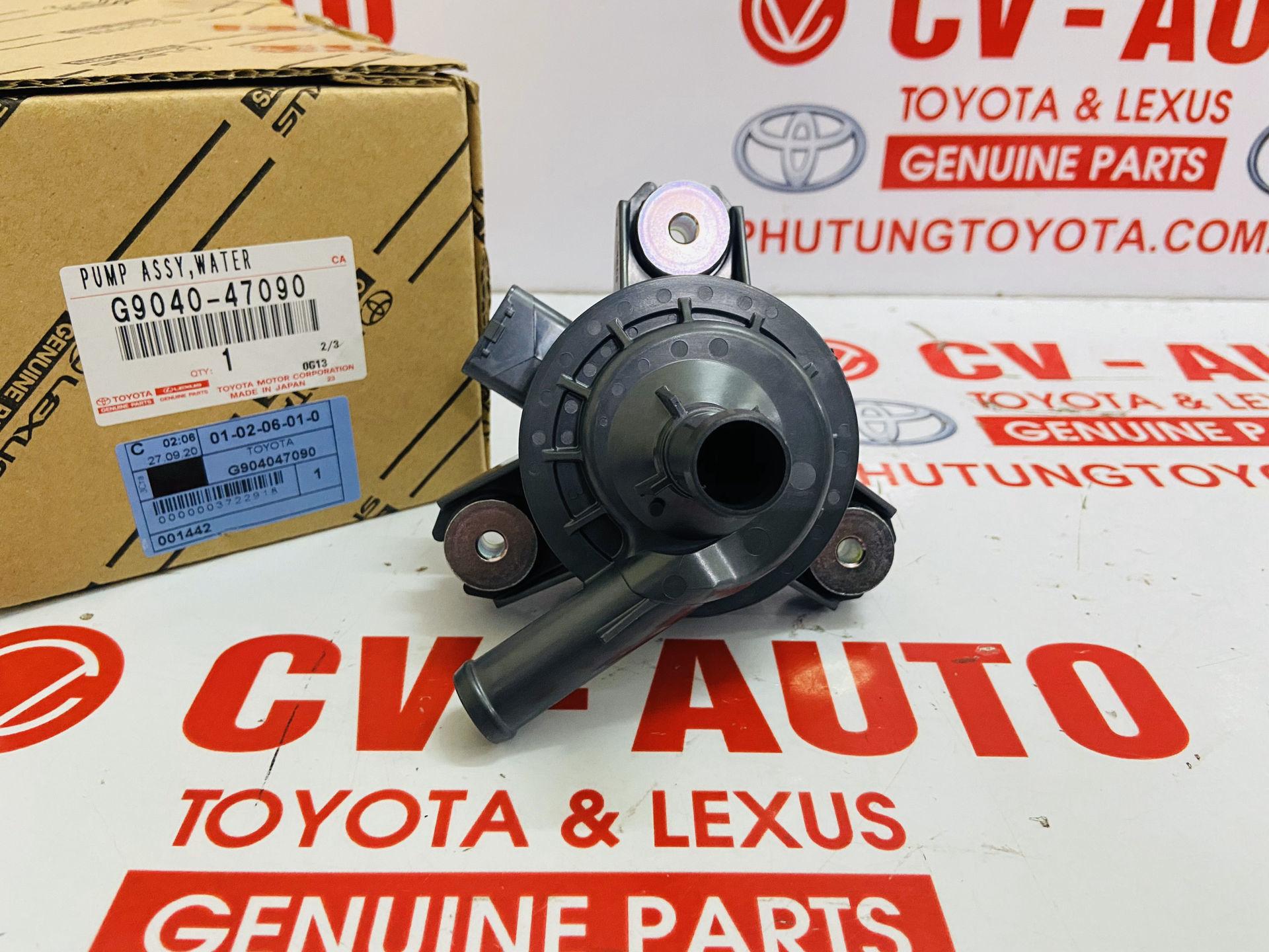Picture of G9040-47090 Bơm nước làm mát động cơ điện Lexus RX450H, CT200H Prius chính hãng