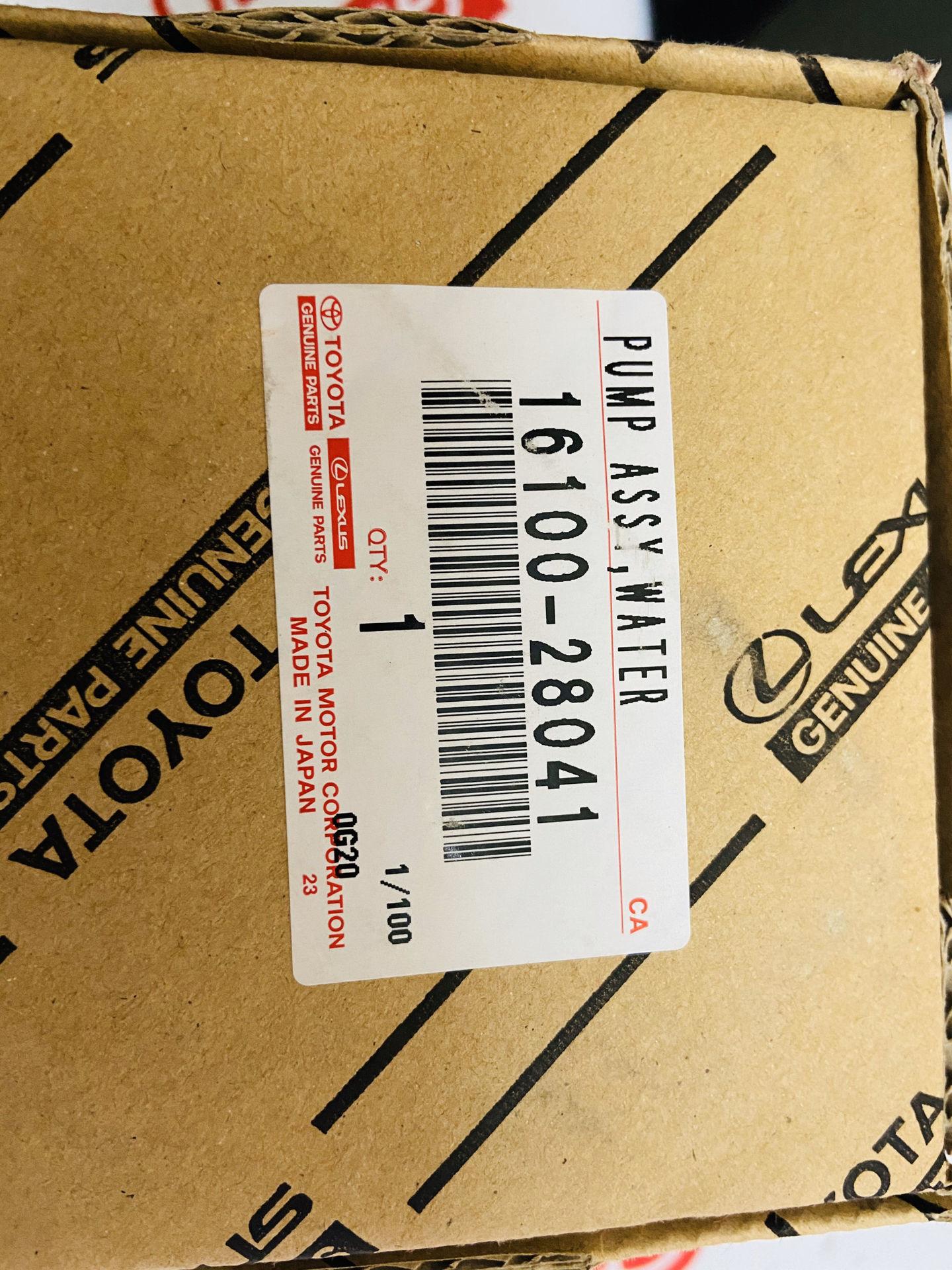 Picture of 16100-28041, 1610028041 Bơm nước Toyota Camry RAV4 Chính hãng
