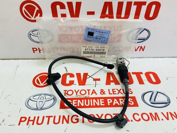 Picture of 47770-50070, 4777050070 Cảm biến báo mòn phanh trước Lexus LS460 chính hãng
