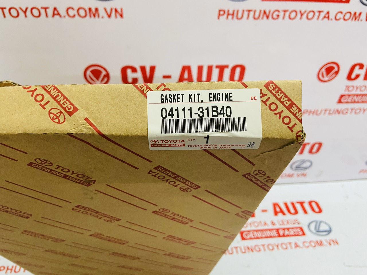 Picture of 04111-31B40, 0411131B40 Bộ gioăng đại tu Lexus IS250 chính hãng