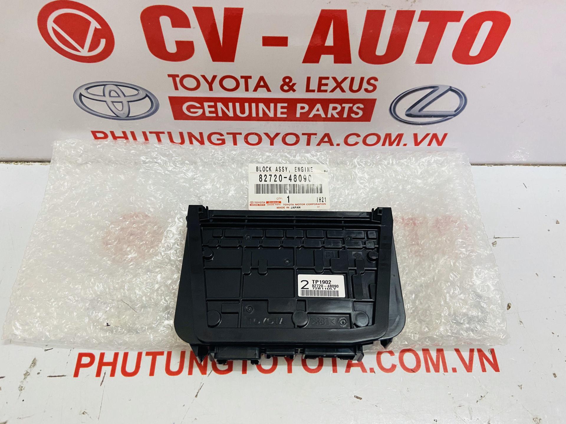 Picture of 82720-48090, 8272048090 Hộp cầu chì, hộp rơ le Lexus RX350 RX450H chính hãng