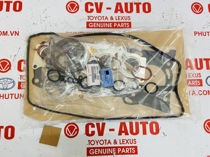 Picture of 04111-28983, 0411128983 Bộ gioăng phớt đại tu động cơ Toyota Camry RAV4 chính hãng