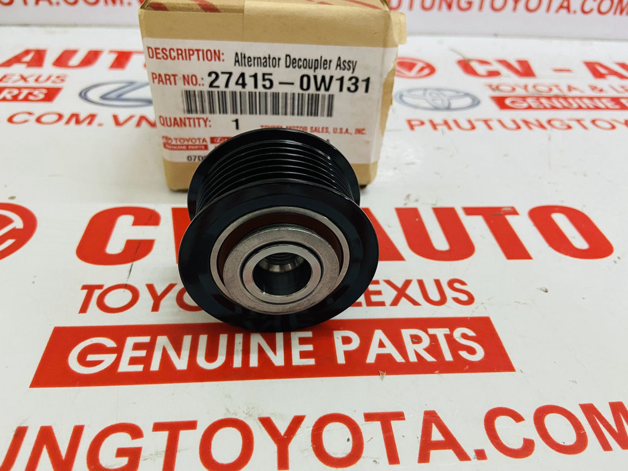 Picture of 27415-0W131, 27415-0W131 Pully máy phát Lexus RX330 RX350 ES350 IS250 IS350 GS300 GS350 Toyota Camry Venza Highlander RAV4 Sienna chính hãng