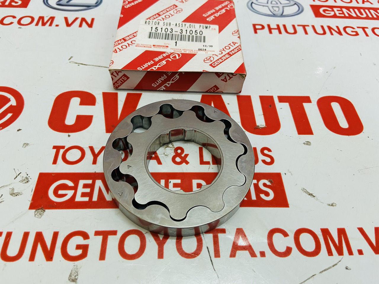 Picture of 15103-31050 15103-0P010 Ruột bơm dầu động cơ 2GR hàng chính hãng