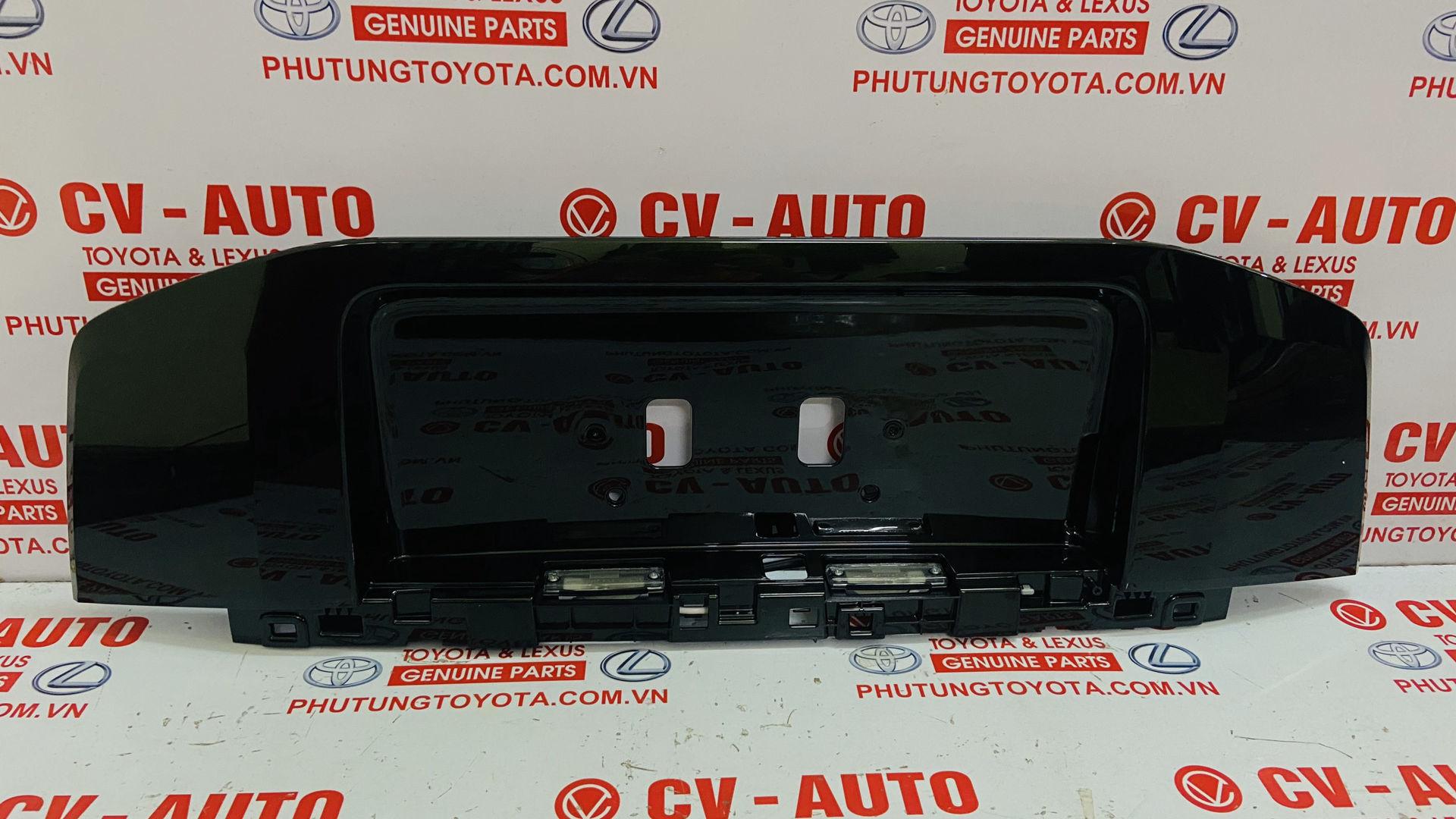 Picture of 76801-60310-G0, 7680160310G0 Giá bắt biển số sau Toyota Prado 2013-2017 chính hãng