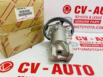 Hình ảnh của15100-51021, 1510051021 Bơm dầu Toyota Land Cruiser 1KD chính hãng