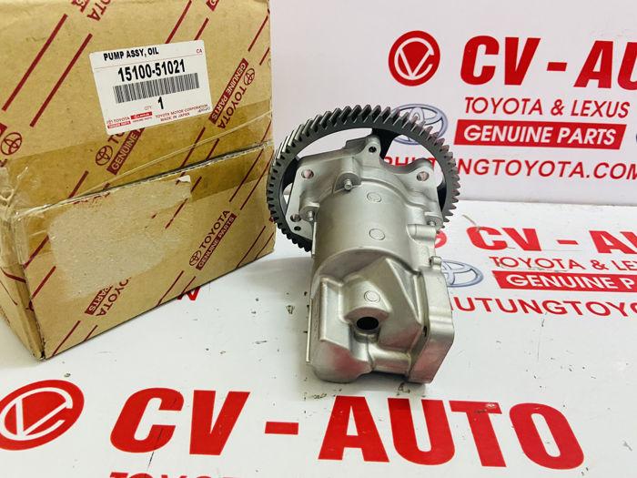 Picture of 15100-51021, 1510051021 Bơm dầu Toyota Land Cruiser 1KD chính hãng