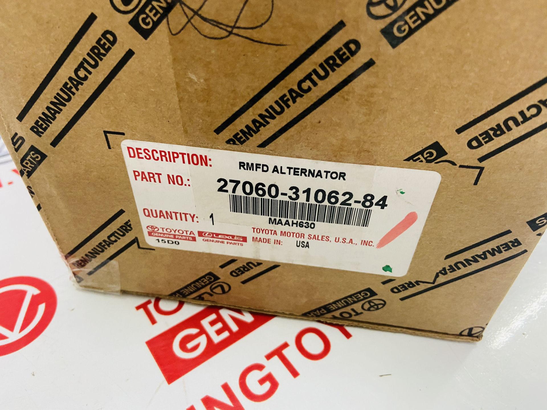 Picture of 27060-31062-84, 270603106284 Máy phát Lexus GS300 GS350 IS250 IS350 chính hãng