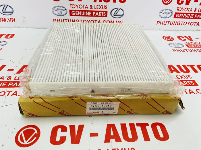 Picture of 87139-50050, 8713950050 Lọc gió điều hòa sau Lexus LS460 LS600H chính hãng