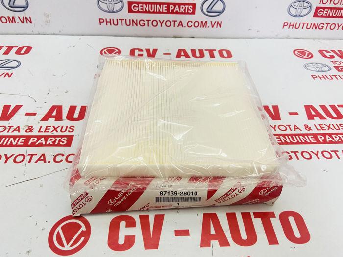 Picture of 87139-28010, 8713928010 Lọc gió điều hòa Toyota Sienna Avalon, Lexus GX470 RX330 RX350 RX400H chính hãng