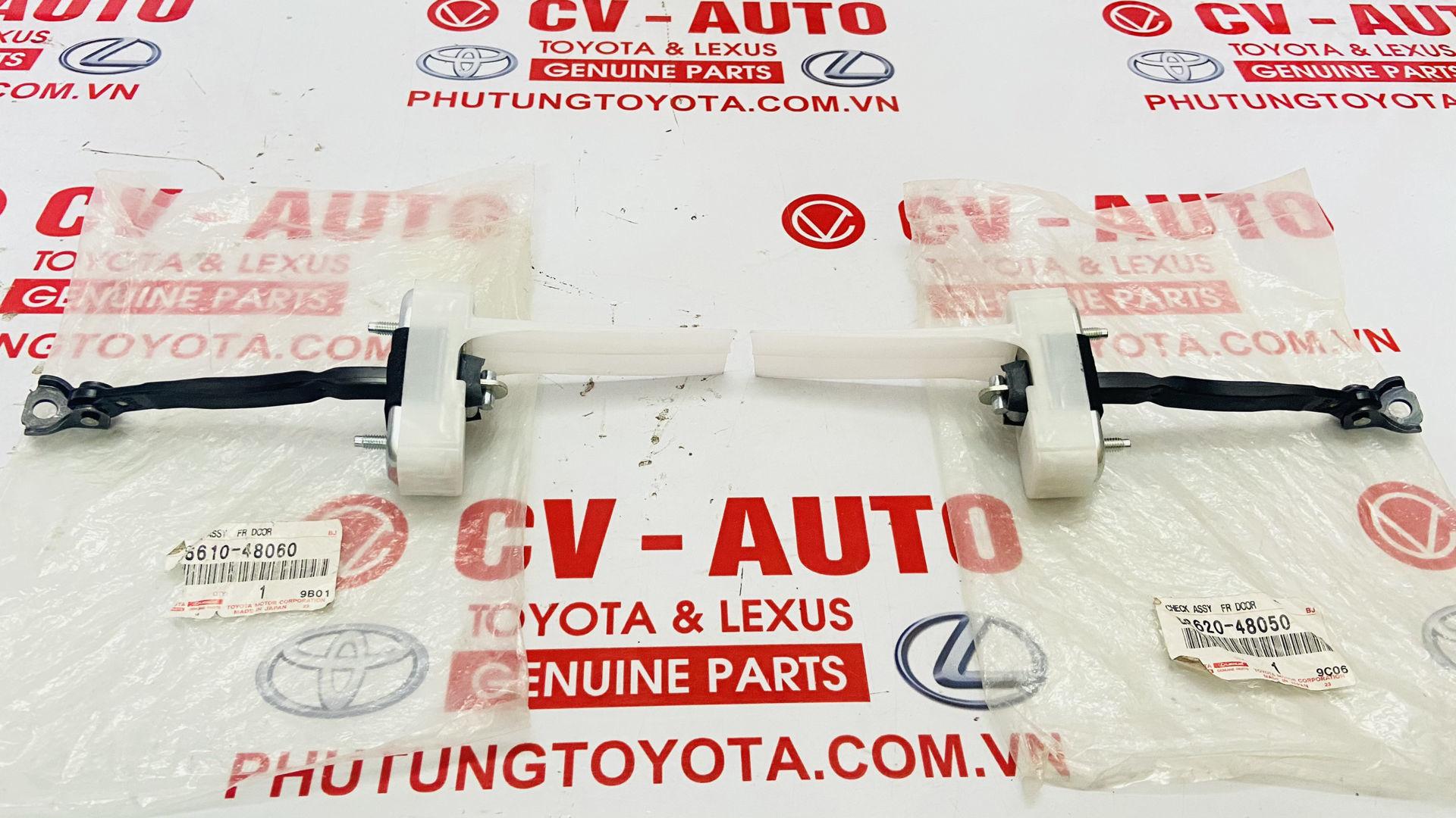 Picture of 68620-48050, 68610-48060, 6862048050, 6861048060 Hạn chế cửa trước Lexus RX350 RX450H chính hãng