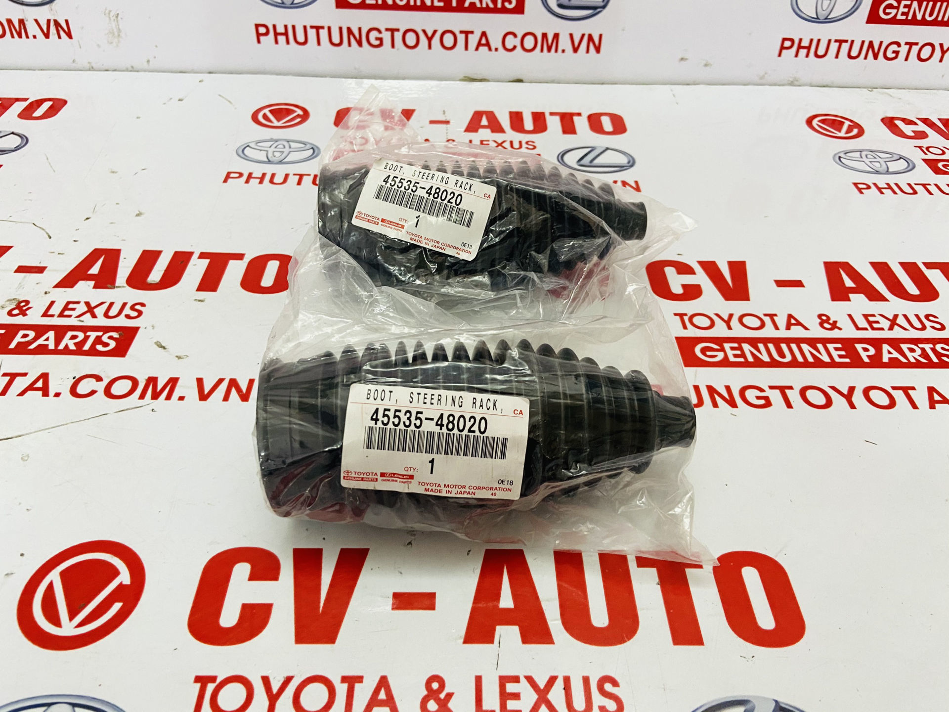 Picture of 45535-48020, 4553548020 Cao su chụp bụi thước lái Lexus RX330 RX350 chính hãng
