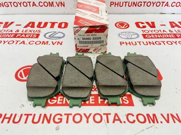 Hình ảnh của04465-33320, 0446533320 Má phanh trước Toyota Camry 02-06 Lexus GS300 GS350 IS250 IS350 chính hãng