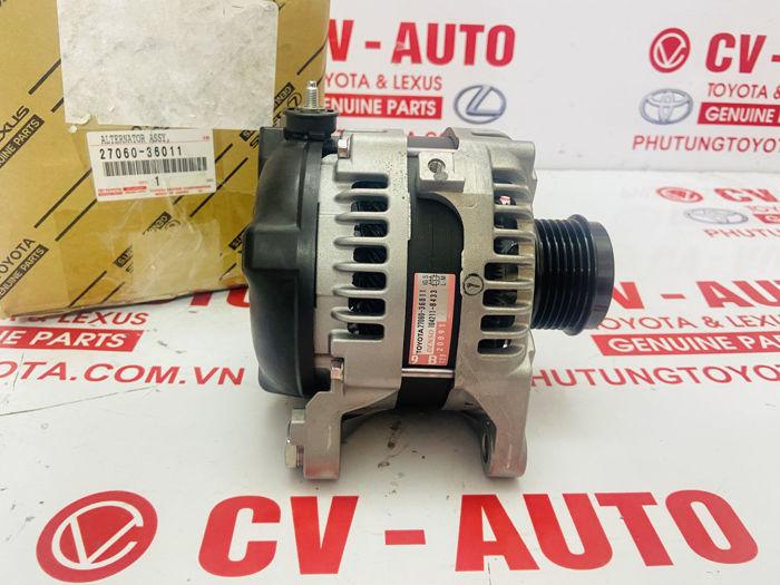 Picture of 27060-36011, 2706036011 Máy phát Toyota RAV4 2AR chính hãng