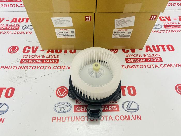 Picture of 116360-1180 87103-0K091 87103-0K092 quạt điều hòa, quạt giàn lạnh Toyota Innova Fortuner Hilux
