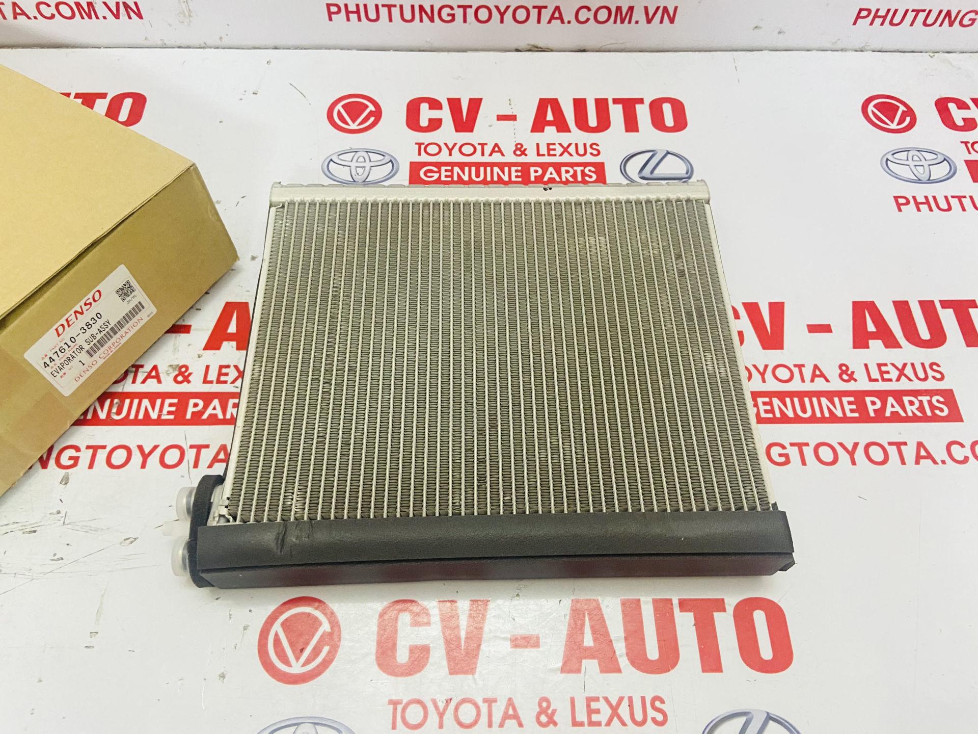 Picture of 447610-3830, 4476103830 Giàn lạnh Lexus GX470, Toyota Land Cruiser Prado 2006-2008 Denso chính hãng
