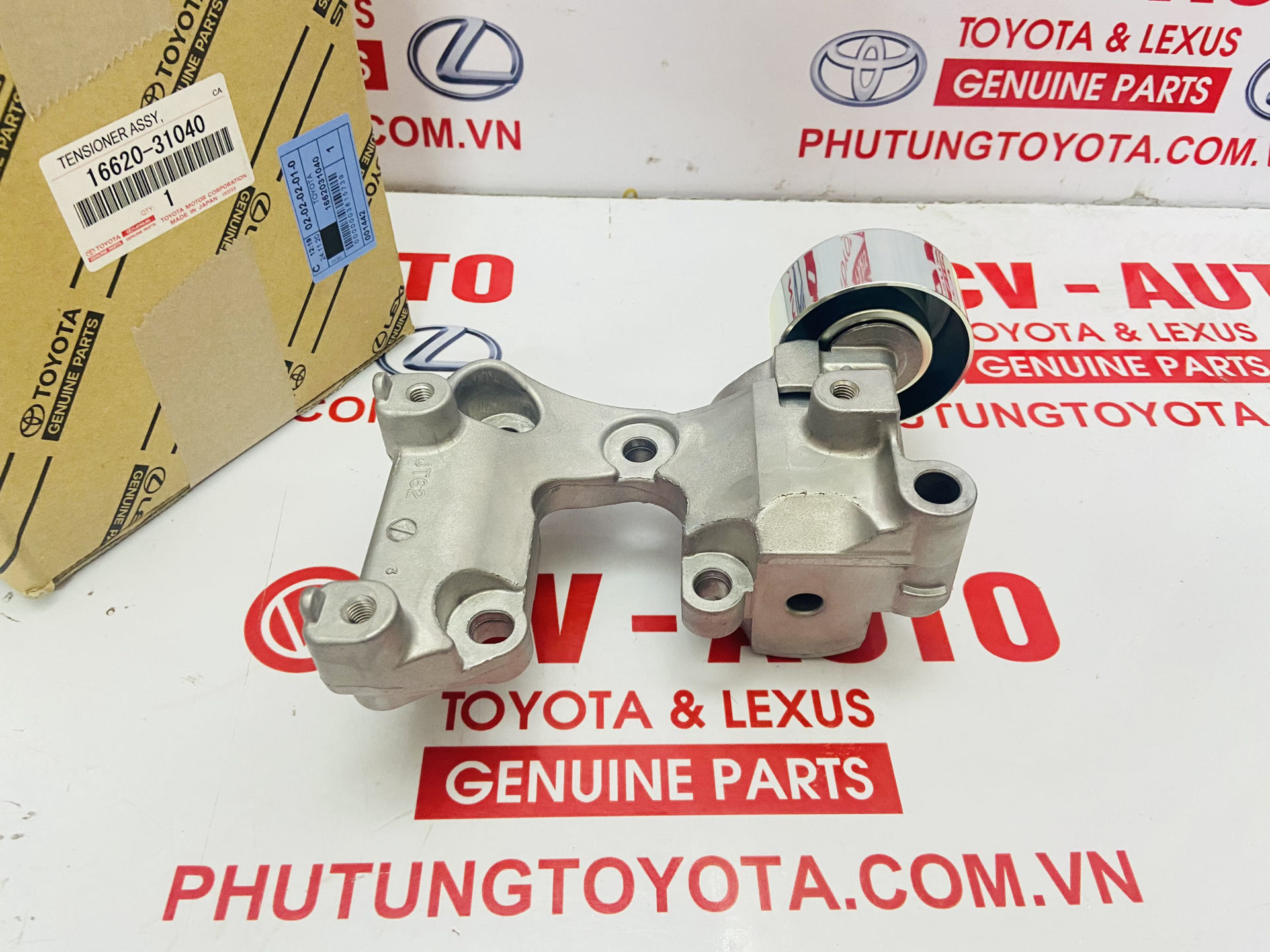 Picture of 16620-31040, 1662031040 Cụm tăng tổng Toyota Lexus 2GR chính hãng