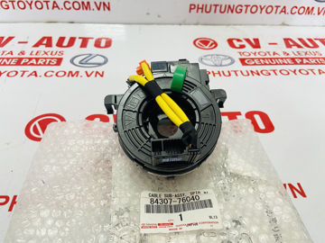 Hình ảnh của84307-76040, 8430776040 Cáp còi liền cảm biến góc lái Lexus CT200H chính hãng