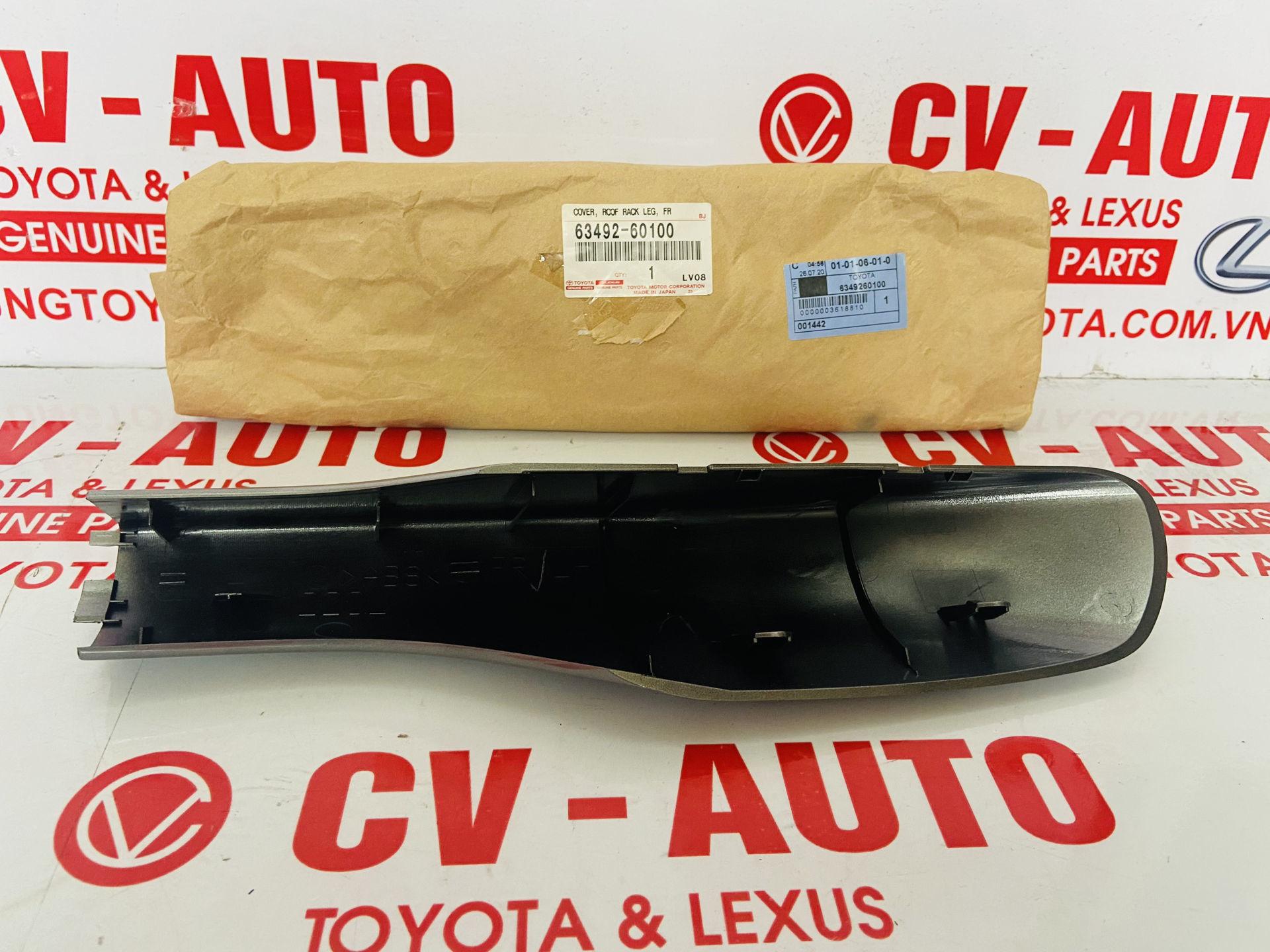 Picture of 63492-60100, 63491-60120, 6349260100, 6349160120 Ốp giá nóc trước Lexus LX570 hàng chính hãng