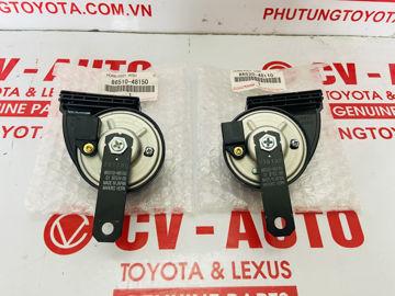Hình ảnh của86510-48150, 86520-48110, 8651048150, 8652048110 Còi âm tần thấp, cao Toyota Lexus chính hãng