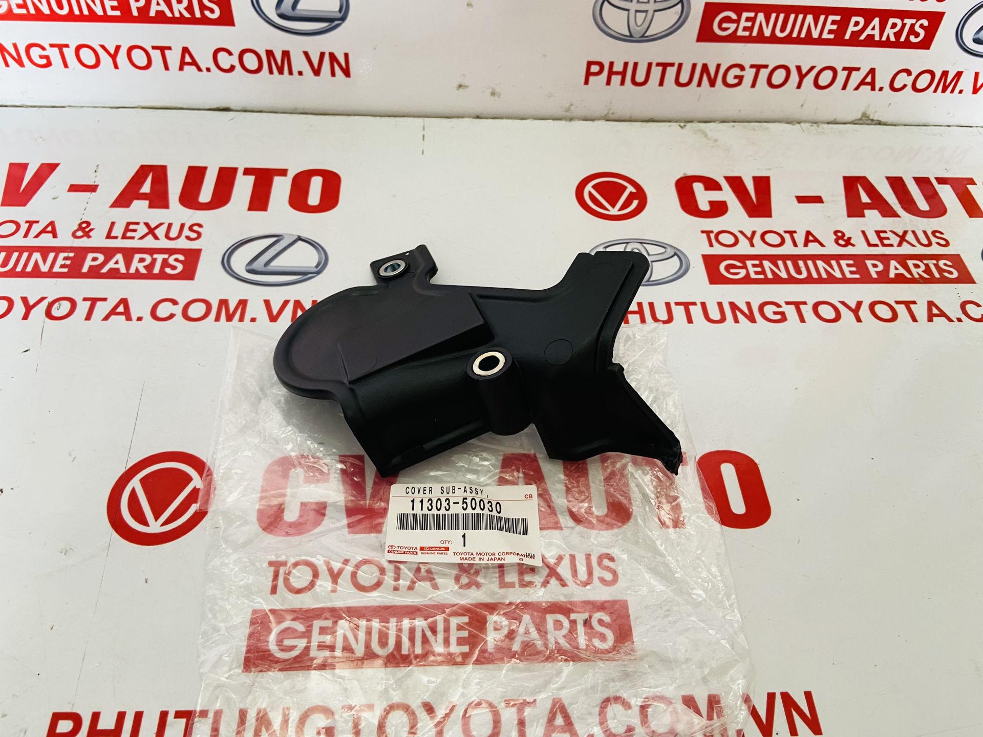Picture of 11303-50030, 1130350030 Nắp cam dưới Lexus LX470 2004 chính hãng