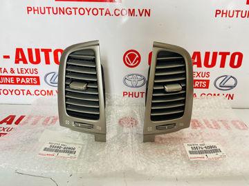 Hình ảnh của55660-60900, 55670-60900, 5566060900, 5567060900 Cửa gió điều hòa Lexus LX470 2004 chính hãng