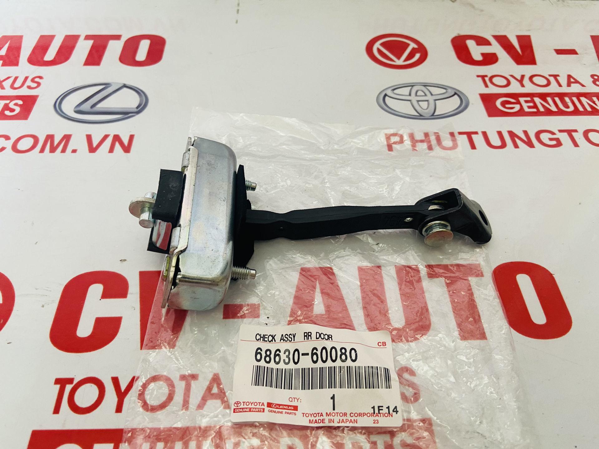 Picture of 68630-60080, 6863060080 Hạn chế cửa Lexus GX470 sau phải chính hãng