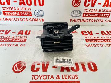 Hình ảnh của55650-60120-B0, 5565060120B0 Cửa gió điều hòa Lexus LX470, Toyota Land Cruiser chính hãng