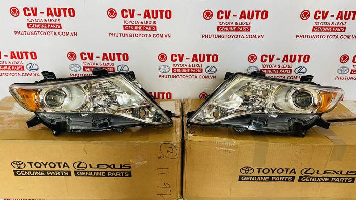 Picture of 81145-0T010, 811450T010, 81185-0T010, 811850T010 Đèn Pha Toyota Venza chính hãng