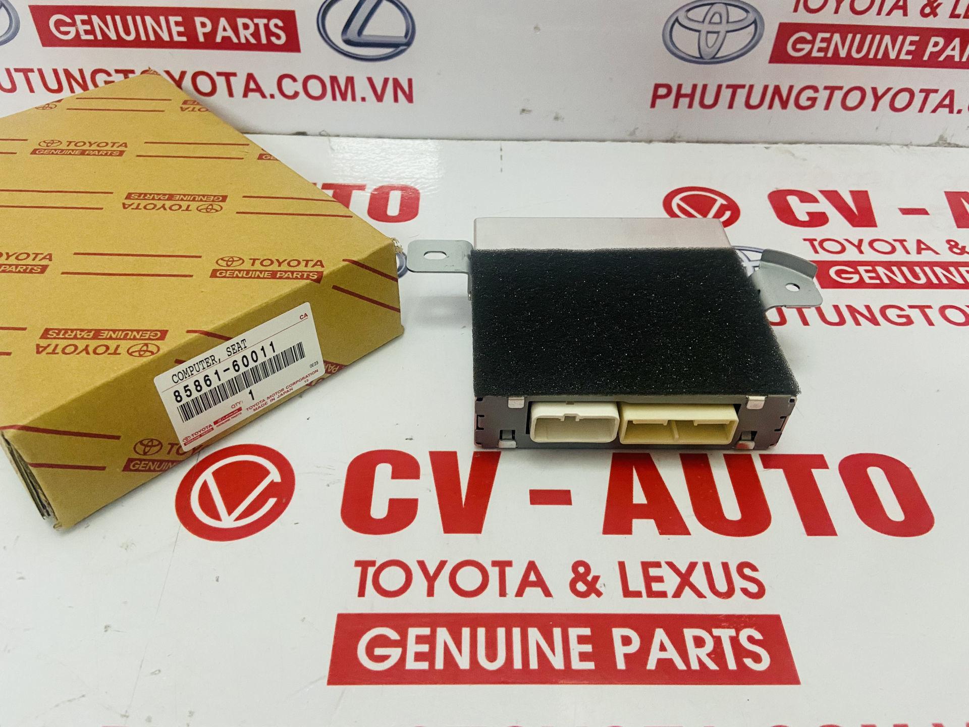 Picture of 85861-60011, 8586160011 Hộp điều khiển nhiệt độ ghế Lexus LX570 chính hãng