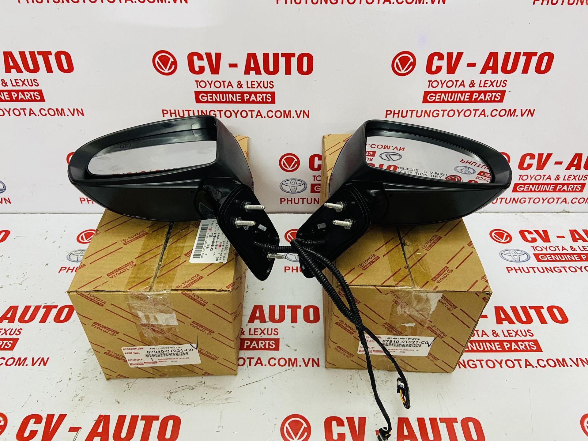 Picture of 87940-0T021-C0, 87910-0T021-C0, 879400T021C0, 879100T021C0 Gương chiếu hậu Toyota Venza chính hãng