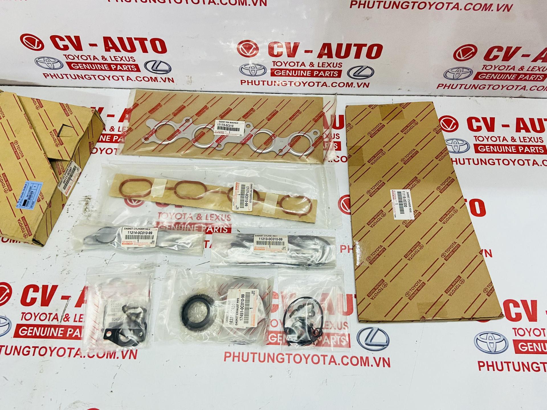 Picture of 041110C087 04111-0C087 Gioăng đại tu Toyota Innova chính hãng