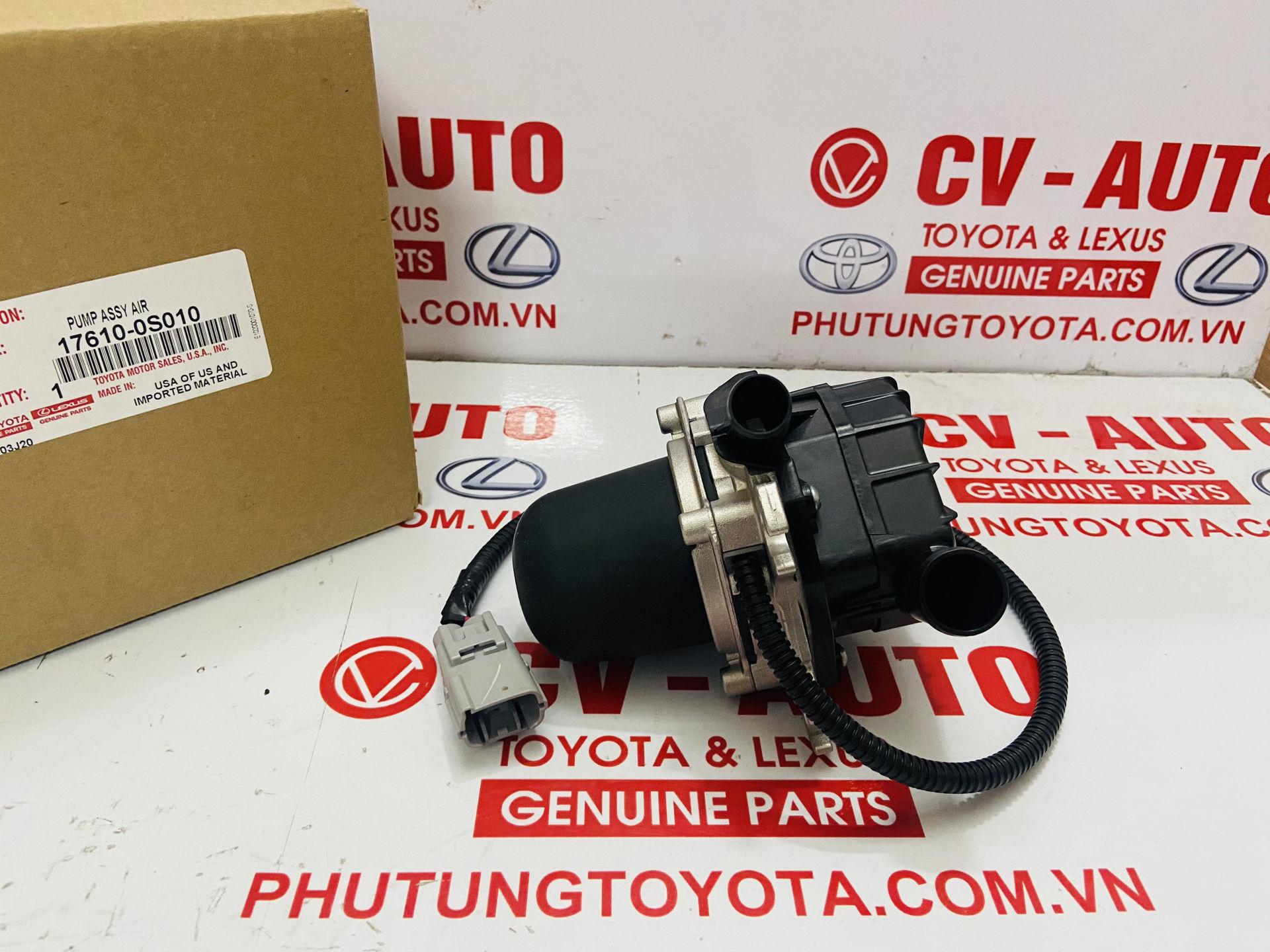 Picture of 17610-0S010 Bơm tăng áp khí nạp Lexus LX570, Toyota Land Cruiser chính hãng