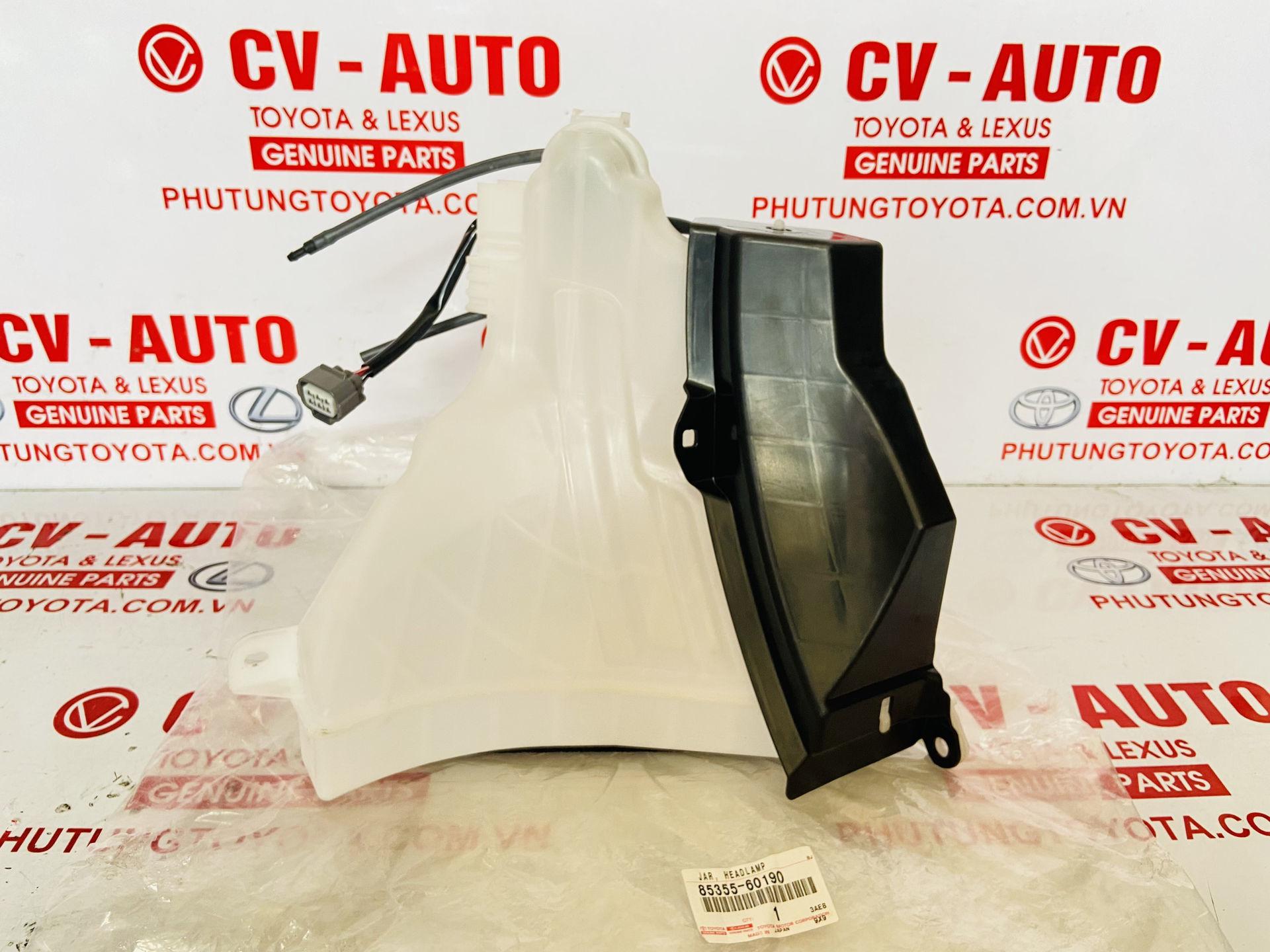 Picture of 8535560190 85355-60190 Bình nước rửa kính Toyota Land Cruiser Prado chính hãng