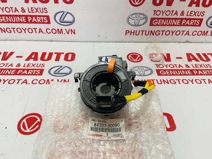 Picture of 8430730090 84307-30090 Cáp còi liền cảm biến góc lái Lexus RX350 Lexus GX460 Chính hãng