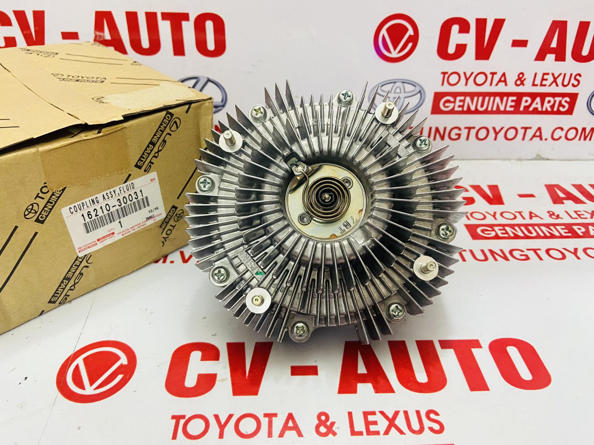 Picture of 1621030031 16210-30031 Li tâm quạt Toyota Fortuner,  Hilux, Hiace 1KD, 2KD Chính hãng