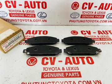 Hình ảnh của04465-0T010, 044650T010 Má phanh trước Toyota Venza chính hãng
