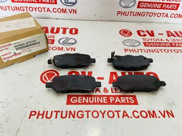 Hình ảnh của04466-0T010, 044660T010 Má phanh sau Toyota Venza chính hãng