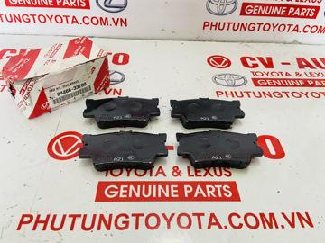 Hình ảnh của04466-33200, 0446633200 Má phanh sau Toyota Camry, RAV4 chính hãng