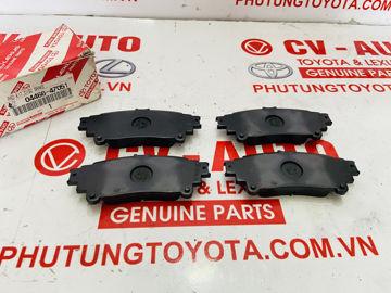 Hình ảnh của04466-47051, 0446647051 Má phanh sau Lexus RX350 RX450H, Toyota Fotuner chính hãng